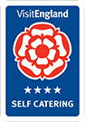 4 Star Self Catering rated by Visit England